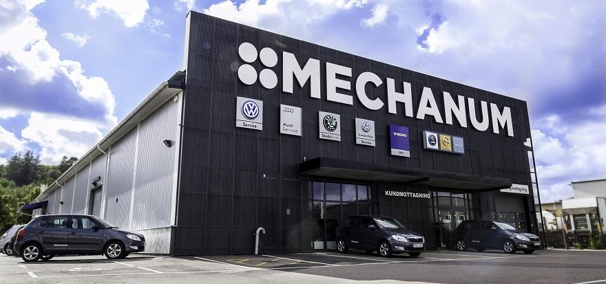 Mechanum bilverkstad